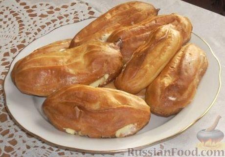 Рецепт Эклеры с масляным кремом