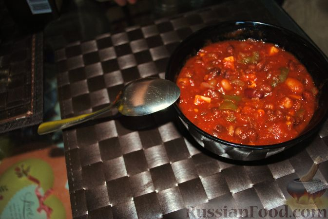 Рецепт Вегетарианское чили