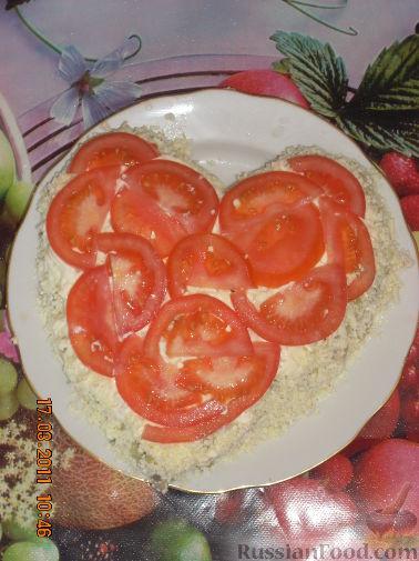 Салат из сердца и шампиньонов рецепт 87