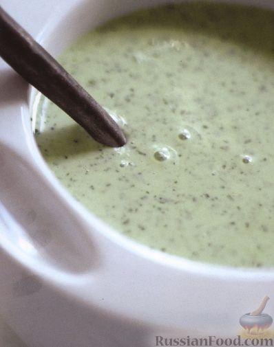 Рецепт Заправка из йогурта и зелени