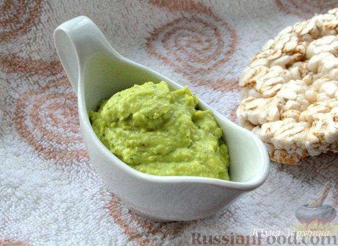 рецепт закуски авокадо, кинза, лимон