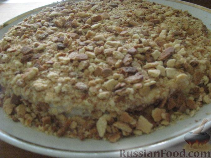 Фото приготовления рецепта: Тарт с инжиром - шаг №7