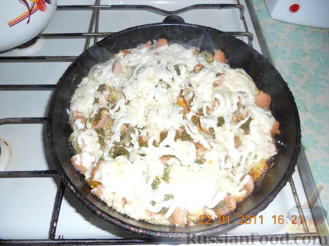 Рецепт Необычная пицца