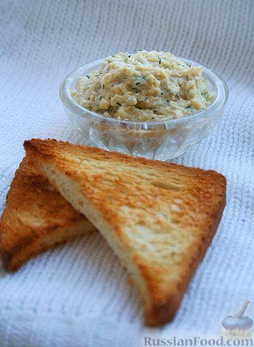 Рецепт Паштет из яиц с сыром