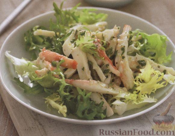 Рецепт Салат из осьминожек