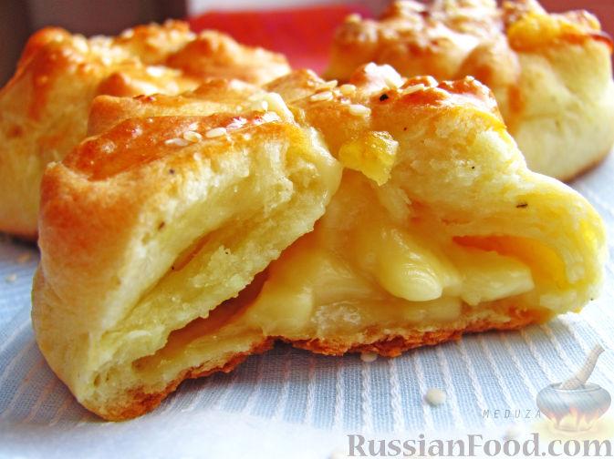 французские булочки с сыром рецепт