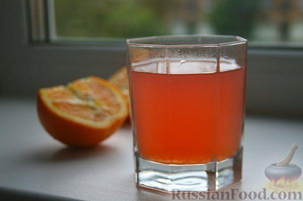 Рецепт Компот из яблок и апельсинов
