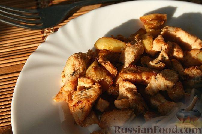 Рецепт Курочка с яблоком