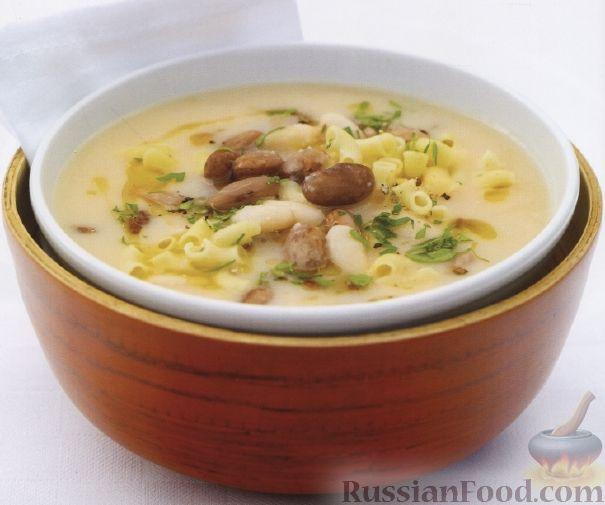 Рецепт Тосканский фасолевый суп