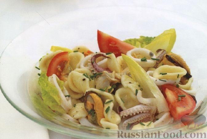 Рецепт Неаполитанский салат из морепродуктов