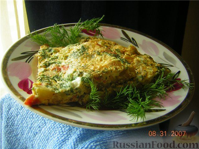 Рецепт Французский омлет