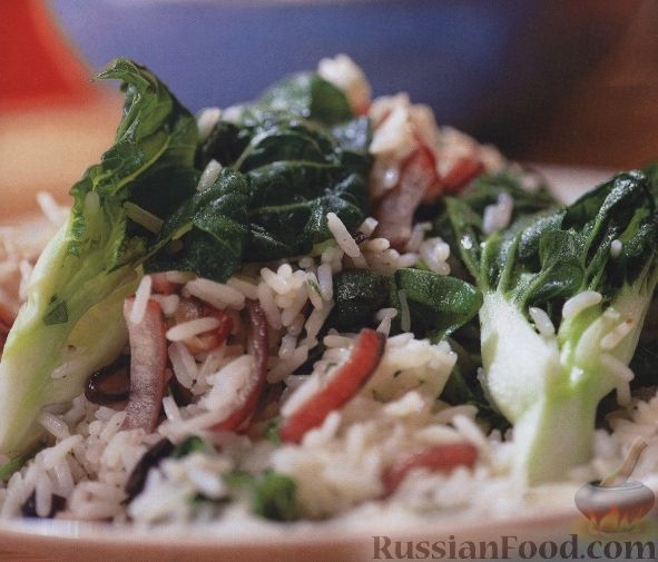 Рецепт Рис с куриным филе и овощами