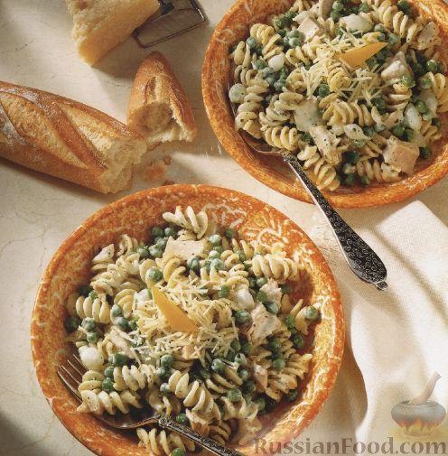 макароны с пармезаном рецепты с фото