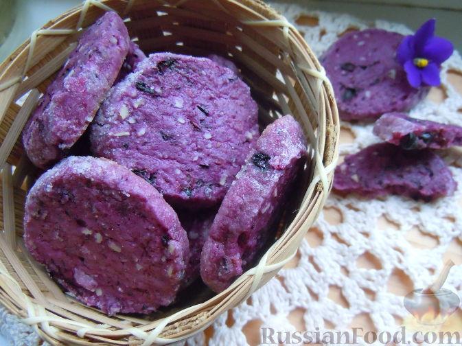 Рецепт Черносмородиновое печенье