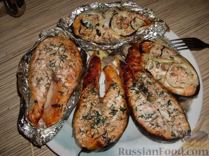 Семга рецепт на сковороде гриль рецепты с фото