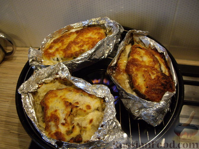 Рыба гриль духовке рецепт фото
