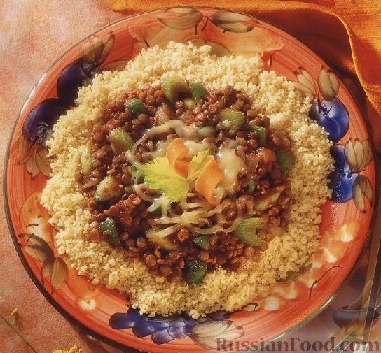 блюда из кускуса рецепты с фото