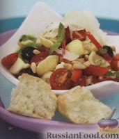 Фото к рецепту: Итальянский салат из макарон