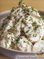 Фото к рецепту: Салат из сырых грибов