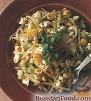 Фото к рецепту: Салат с бобовыми ростками