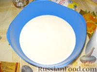 """Фото приготовления рецепта: Торт """"Зебра"""" - шаг №5"""