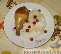 """Фото к рецепту: Курица """"Пьяная"""""""