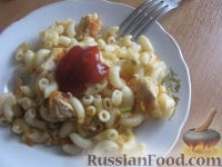 Фото к рецепту: Паста с овощами и куриной грудкой