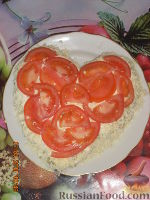 """Фото к рецепту: Салат """"Сердце"""""""