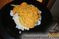 Фото к рецепту: Тайское красное карри