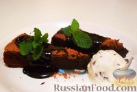 Фото к рецепту: Торт из горького шоколада
