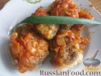 Фото к рецепту: Хек тушеный с овощами