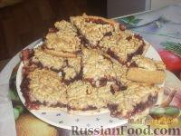 Фото к рецепту: Песочное печенье с вареньем