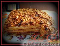 """Фото к рецепту: Тортик """"Медовик"""""""