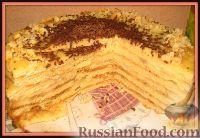 """Фото к рецепту: Тортик """"Наполеон"""""""