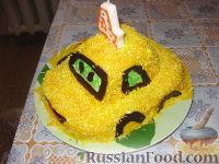 """Фото к рецепту: Торт """"Машина"""""""