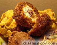 Фото к рецепту: А-ля конфеты с творогом и сухофруктами
