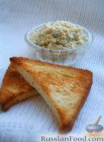Фото к рецепту: Паштет из яиц с сыром