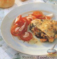 Фото к рецепту: Фриттата с шпинатом и кешью