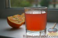 Фото к рецепту: Компот из яблок и апельсинов