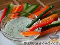 Фото к рецепту: Соус к овощам