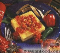 Фото к рецепту: Острая сырная запеканка