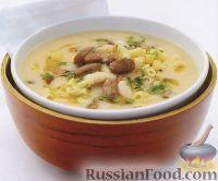 Фото к рецепту: Тосканский фасолевый суп