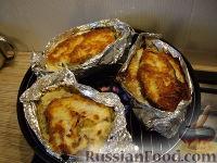 Фото к рецепту: Рыбка-гриль на подушке
