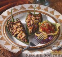 Фото к рецепту: Фаршированный перец поблано