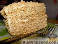 Фото к рецепту: Торт медовый