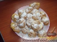 Фото к рецепту: Пирожные с заварным кремом