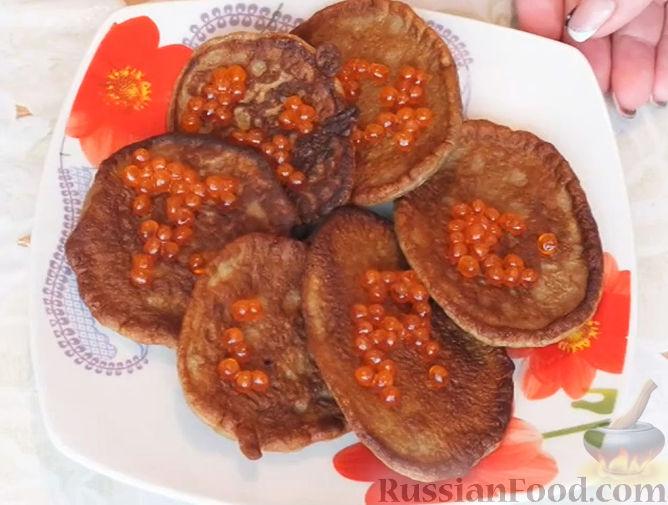 Вкусные печеночные оладьи рецепт с фото