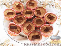 Фото к рецепту: Очень шоколадные кексы