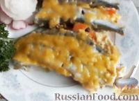 Фото к рецепту: Мойва под соусом