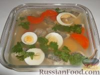 Фото к рецепту: Рыба заливная